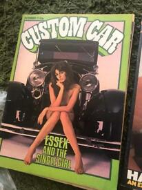 Vintage Custom Car magazines