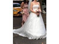 Bespoke wedding dress 8-12