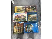 Bundle of 9 Jigsaws Assorted Sizes
