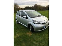 Toyota Aygo 08 Platinum, 1.0L, Silver, **51,000 MILES**, 1 years mot, FSH, Very Good Condition