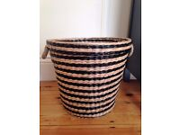 Whicker laundry basket