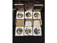 Wedgewood and royal doulton display plates