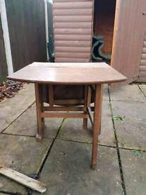 c.1960s Small folding table
