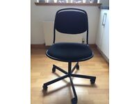 Black office IKEA chair for SALE - excellent condition