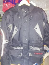 Targa Motor cycle jacket large