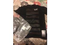Brand new genuine ea7 t-shirt