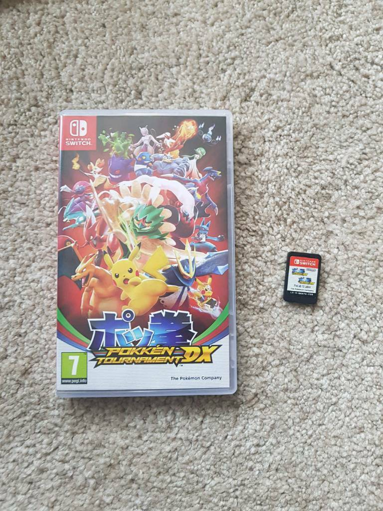 pokken tournament nintendo switch game in redruth cornwall gumtree
