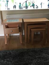 REDUCED - Beech occasional table