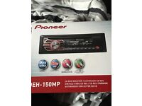 Pioneer car stereo not been used