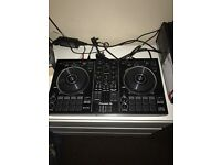 Pioneer ddj-rb with reckord box dj and pioneer dm-40 speakers