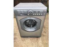 Hotpoint WML540 6kg 1400 Spin Washing Machine in Silver #4734