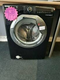 HOOVER 9KG LOAD 1500 SPIN WASHING MACHINE IN BLACK