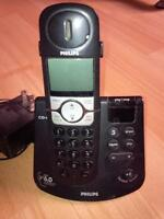 PHILIPS CORDLESS, 6 GHz, DIGITAL ANSWERING, PHONE