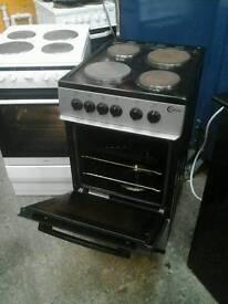Flavel silver freestanding cooker