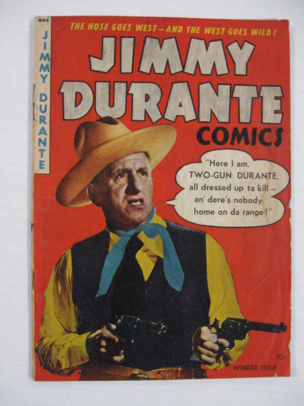 JIMMY DURANTE #20 G SCARCE PHOTO COVER