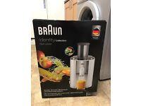 Braun spin Juicer new
