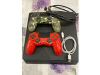 PS4 & Two Controllers