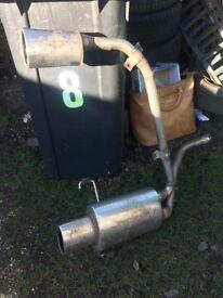 Cobra exhaust of a casa