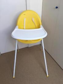 High chair from Mothercare - £12 - pick up from W12
