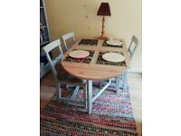 IKEA gamleby table and 4x chairs