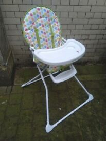 Mothercare children's toddler's highchair excellent central London bargain