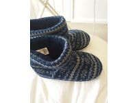 M&S boot slippers size 1