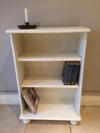 Painted & Distressed Wooden Bookcase