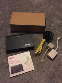 Like new talk talk super fast router