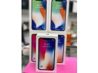 iPhone X 64gb like new box Warranty Open on all sim
