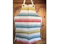 5 X Ulster Weavers Adults Oil Cloth Apron Sorbet Stripe