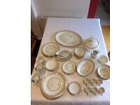 Royal Doulton White Nile 63 piece Dinner Set/Service