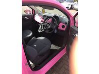 The only automatic pink fiat 500 in the uk for sale very rare car