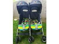 Cosatto Twin Stroller Great Condition double buggy