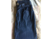 M&S Classic collection size 14 (short leg length) blue pair of jeans