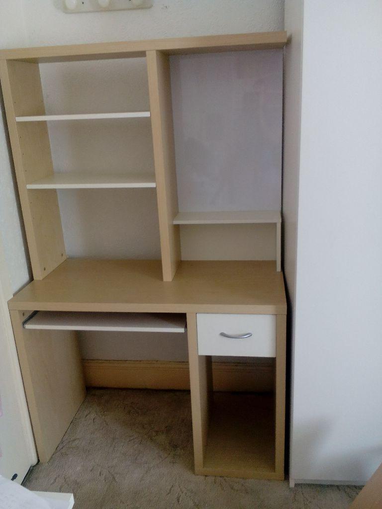 Ikea desk keyboard shelf drawer magnetic board for Ikea desk with shelf