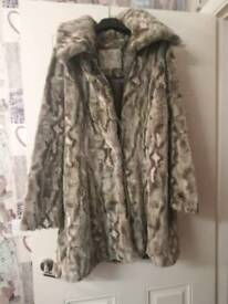 John rocha fur coat