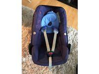 Maxi Cosi Pebble baby car seat- excellent condition