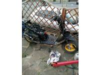 Gilera stalker w reg 2 stroke with 70cc bore kit race pipe and jetted carb