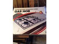 Brand new gas hob