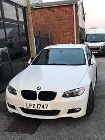 BMW 330d M sport Coupe e92 Alpine White