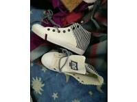 Canvas shoes size 39/6 trainers like converse