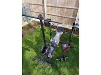 Metal Weights Workout Set 120kg