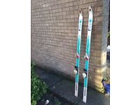 Snow skis - 8 Pairs, various sizes - 10-15 each