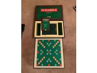 Vintage Spear's Games Scrabble Original Board Kids Family Game 1988 Complete.