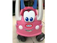 Pink Cosy Coupe Car