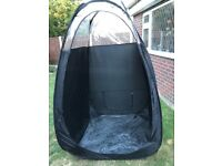 Spray Tan pop up tent