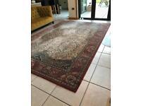 Heavy wool rug 245 x 350 cm (2.45 m x 3.5 m)