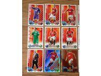 Football trading cards topps match attax attack Man Utd