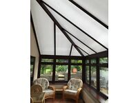 Premium Large Wood Effect UPVC Conservatory Only 4 Years Old As New (near Honiton, Devon)!