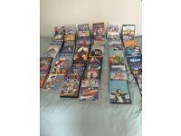 Over 100 children DVDs Disney classics funny cartoons etc